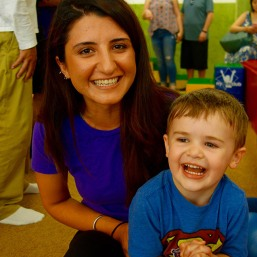 Smiling with Ms. Asya