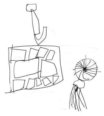 Henry's sketches of readymades