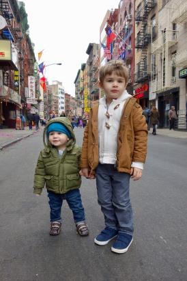 Brothers on Mott Street