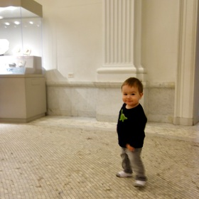 Quin at the American Museum of Natural History