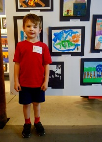 Henry at D2 Downtown Art Show opening reception.