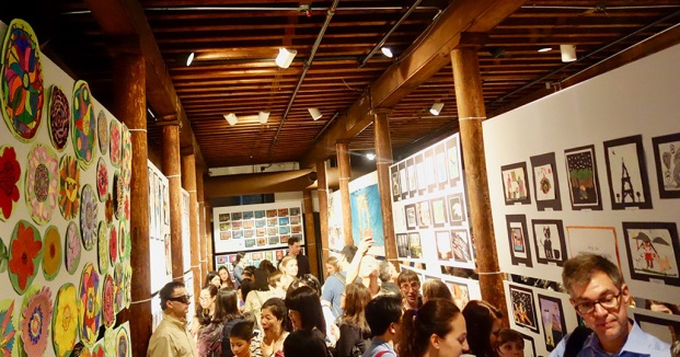 Melville Gallery interior.