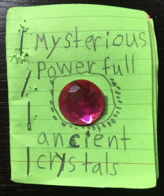 Book of Mysterious Powerfull Ancient Crystals