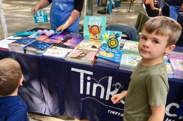 "There may be no title more indicative of the Brooklyn Book Fest Children's Day than ""Woke Baby"" (not a parody)."